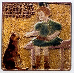 Excised Tile By Mary Frances Overbeck