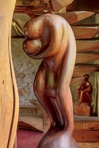 Lovers-inspired Oblivion carved from walnut in 1934.