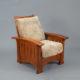 Catlin Bow Arm Morris Chair